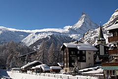 Winter im Zermatt